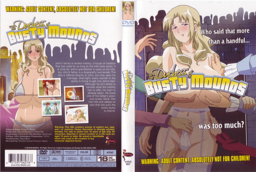 Duchess of busty mounds hentai anime dvd review